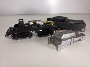 Remotorisation tenders Jouef moteur a plat