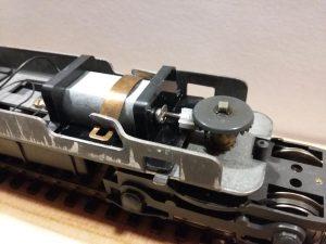 Moteur de remplacement pour locomotive Jouef
